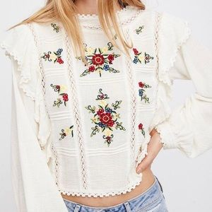 Free People Blouse - The Amy Top